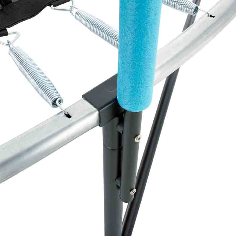 Tp Trampoline Parts: 10ft Genius Round SurroundSafe Trampoline TP211P