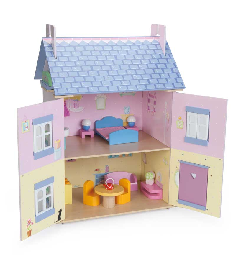Dolls Houses With Furniture H146 Bella S House Le Toy